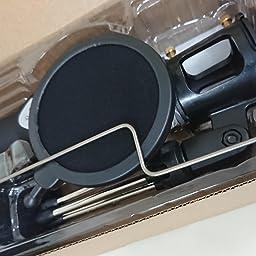 Amazon Tonor Pcマイク コンデンサー Usbマイク 単一指向性 イヤホンアダプター付き 音量調節可能 ブラック Tonor トナー Pc用マイク 通販