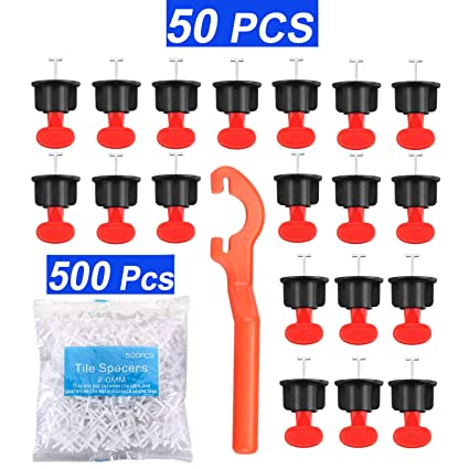 2mm Re-Usable Heavy Duty Tile Spacers Floor//Wall 50 pack