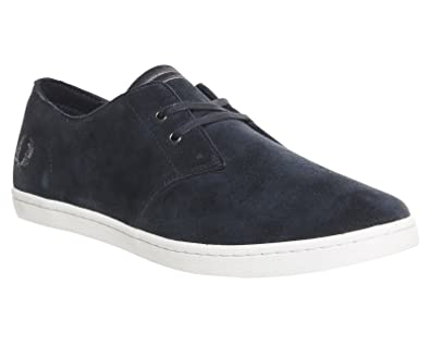 Fred Perry Byron Low Suede Navy White 44 CMmFW