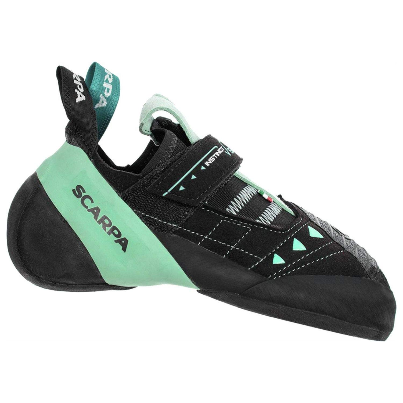 SCARPA Instinct VS Climbing Shoe - Women's Black/Aqua, 41.5 by SCARPA