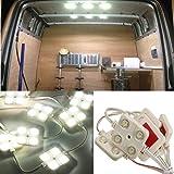 Audew 40 Lampada LED per Auto/ Esterno Camper/ Camion Luce Bianca per Lettura/Soffitto/Plafoniere/Interno 12V