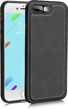 Bewahly Estuche para iPhone 7 Plus, iPhone 7 Plus Carcasa, Estuche Protector Ultra Claro de galvanoplastia Transparente, Funda de Silicona Suave para iPhone 7 Plus- Negro: Amazon.es: Electrónica