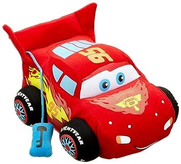 Cars Disney 2 1000431 Lightning McQueen - Coche de peluche con sonido y movimiento, 25