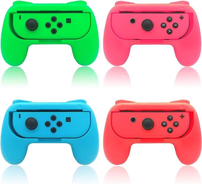 Grips para Nintendo Switch Joy-con, FYOUNG Mangos de Control para ...