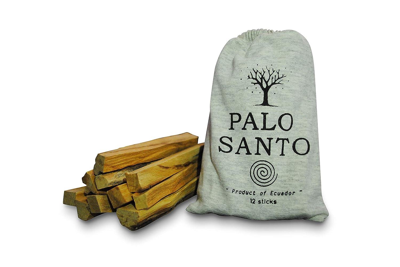 Alternative Miracle 12 pcs Palo Santo Smudging Sticks 12 pcs Wild Harvested Holy Wood Incense Smudge Sticks