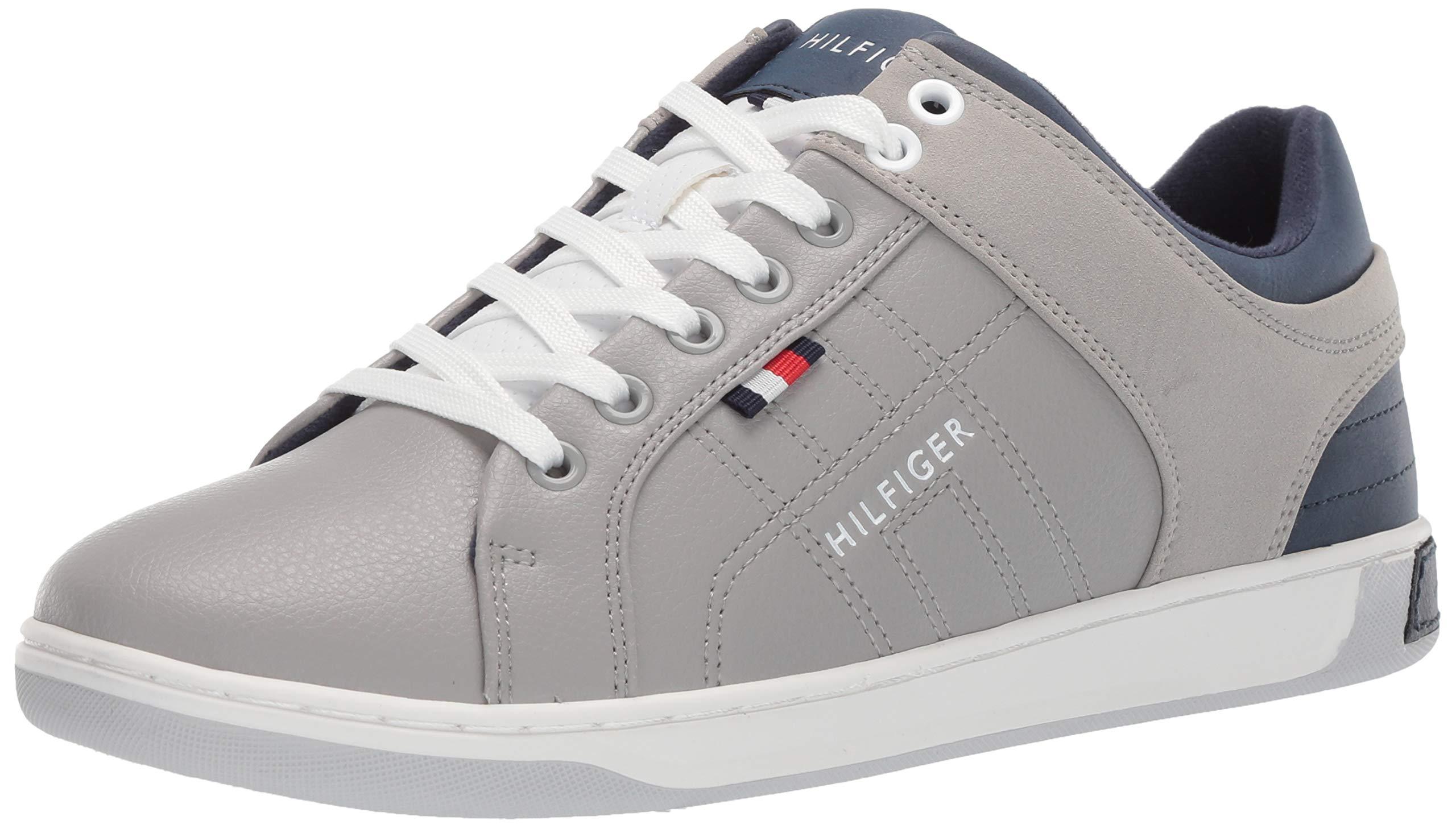 Tommy Hilfiger Men's Samir Sneaker, Grey 7 Medium US
