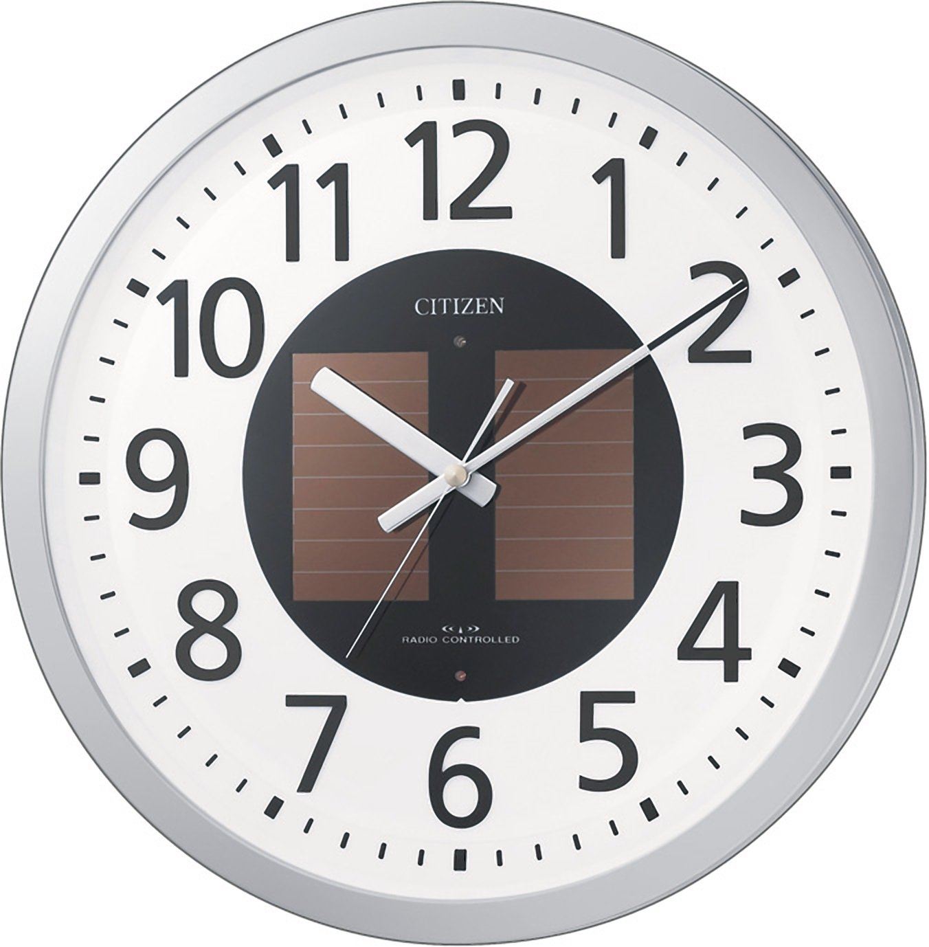 CITIZEN (シチズン) 電波ソーラー掛時計 エコライフM815 4MY815-019 4MY815-019 B005UVALLC