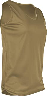 product image for TR-903W-CB Women's Athletic Single Ply Solid Color Light Weight Track Singlet (Small, Vegas)