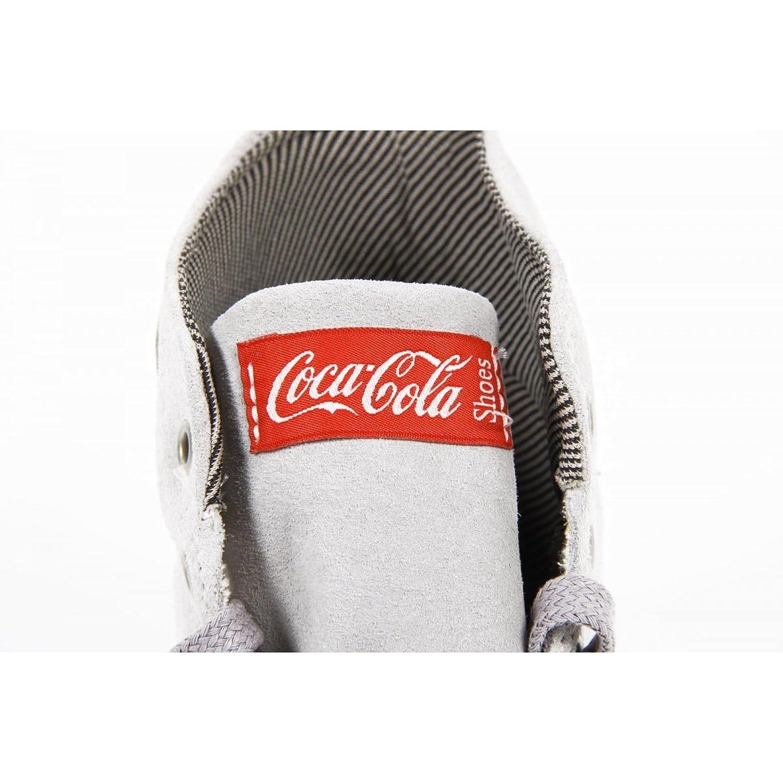 Coca Cola Mens Sneakers Cca0668 Rambla Sued Gray YGImS