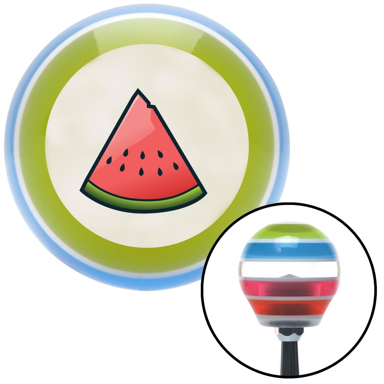 Watermelon American Shifter 18602 Stripe Shift Knob with M16 x 1.5 Insert
