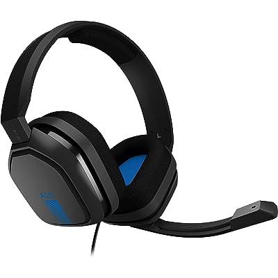 Astro Gaming A10 - Auriculares Gaming con Cable, Astro Audio, Peso Ligero, Resistente, 3.5 mm Audio Jack, Control Integrado en el Cable, Micrófono Volteable, PC/Mac/Xbox One/PS4, Negro/Azul
