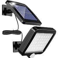 Lámpara Solar Para Exterior, MPJ Lámpara Solar 56 Led Para Exteriores Con Detector De…