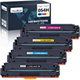 OfficeWorld Compatible Toner Cartridge Replacement for Canon 054 054H, Work with Color imageCLASS LBP622Cdw MF644Cdw MF642Cdw LBP620 MF640C Printer, 4 Pack (Black, Cyan, Magenta, Yellow)