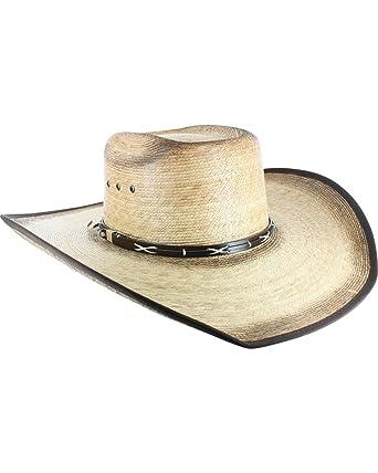 02249fce745 Cody James Men s Palm Leaf Cowboy Hat - Cc2bext at Amazon Men s Clothing  store