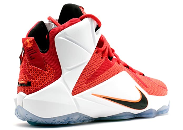 lowest price 83a12 cbc7f Amazon.com   Nike Lebron XII 12 Heart of a Lion Men s Basketball Shoes  684593-601 (9.5) Red   Basketball