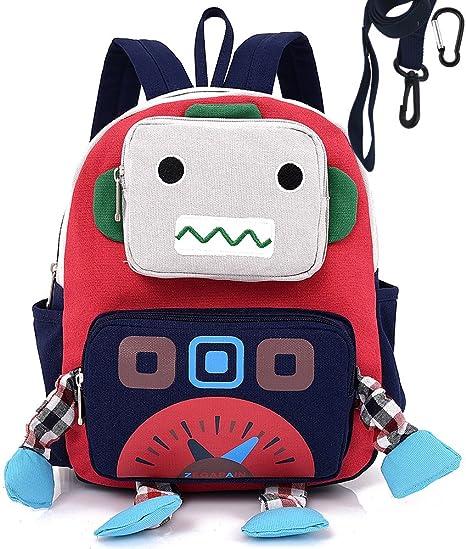 enorme sconto 1f864 0584b Zainetti Per Bambini Asilo Nido Asilo Prescolastico Robot Anti Perdita  Cinghiasacco Perso Ragazzo Cher