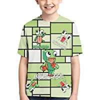 GIPHOJO Un-Speakable Youth Unisex T-Shirt Tees 3D Double-Sided Print for Boys