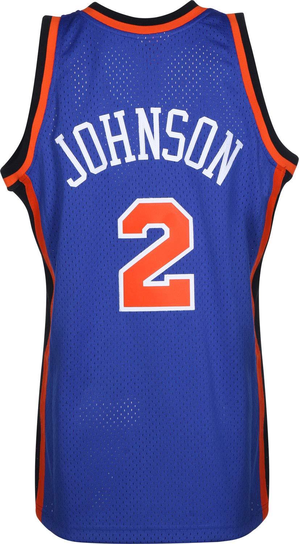 Mitchell & Ness NY Knicks L. Johnson 1998-99#2 Camiseta Navy ...