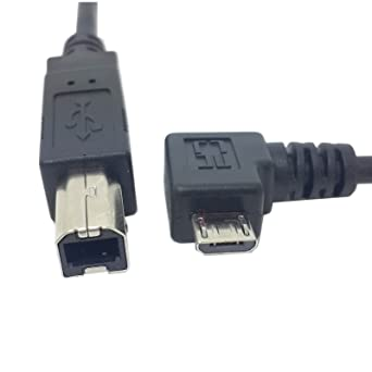 Amazon.com: jser ángulo izquierdo 90 grados Micro USB OTG ...