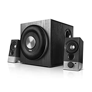 Edifier USA M3600D Multimedia 2.1 Active Speaker System - THX Certified - 200 Watts RMS Black (4003332)