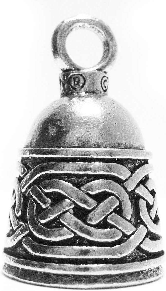 Guardian Bell Irlandés Celtic Weave - Llavero con campana o llavero