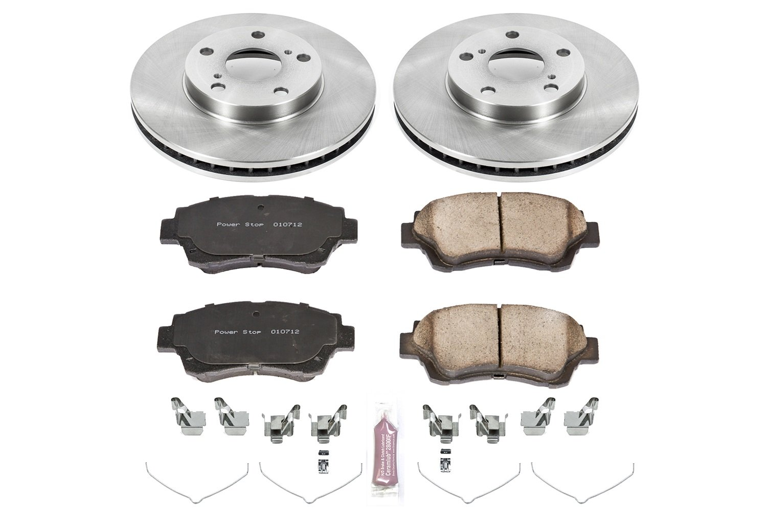 Autospecialty KOE1054 1-Click OE Replacement Brake Kit