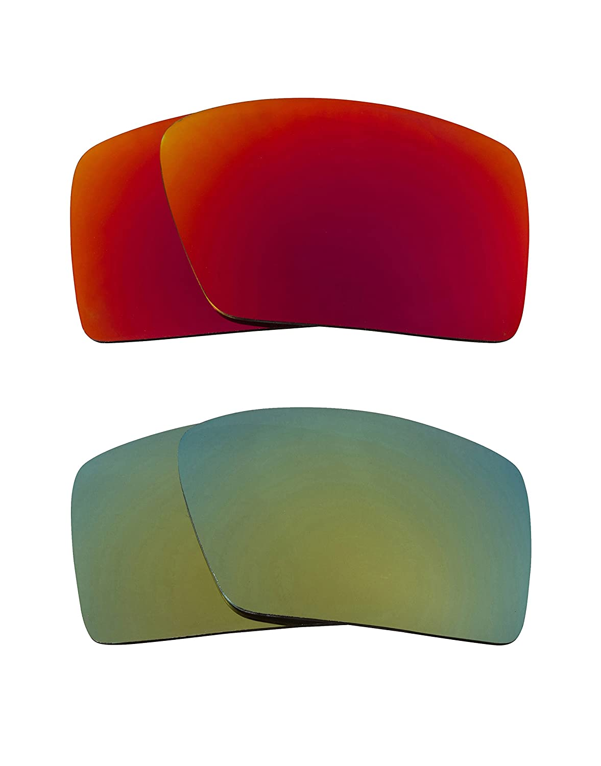 ae290e46bd New SEEK Replacement Lenses Oakley EYEPATCH-Polarized Red Green at Amazon  Men s Clothing store