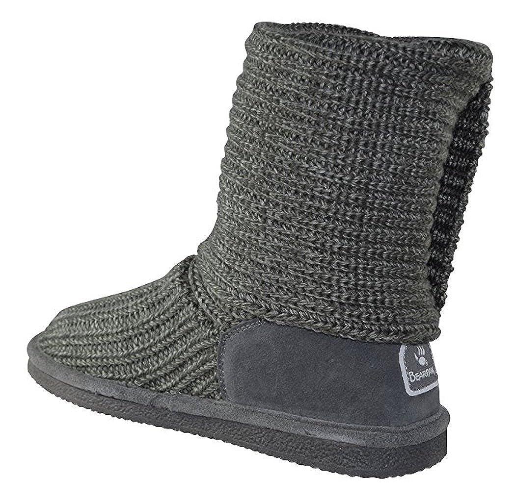 761c3d53b55 BEARPAW Women's Knitallic Snow Boot