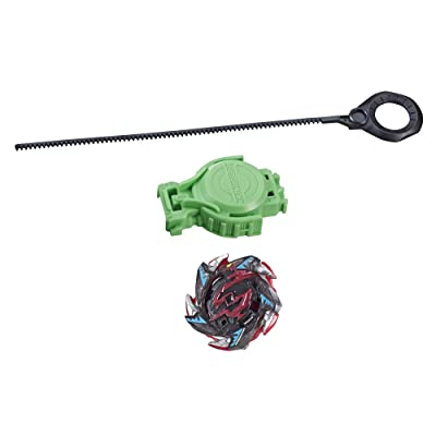 BEYBLADE Burst Turbo Slingshock Salamander S4 Starter Pack – Battling Top and Right/Left-Spin Launcher, Age 8+: Toys & Games