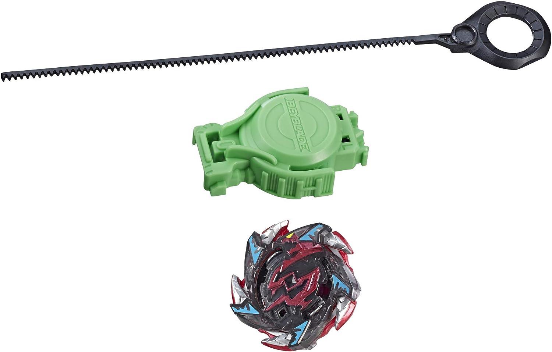 BEYBLADE Burst Turbo Slingshock Salamander S4 Starter Pack – Battling Top and Right/Left-Spin Launcher, Age 8+