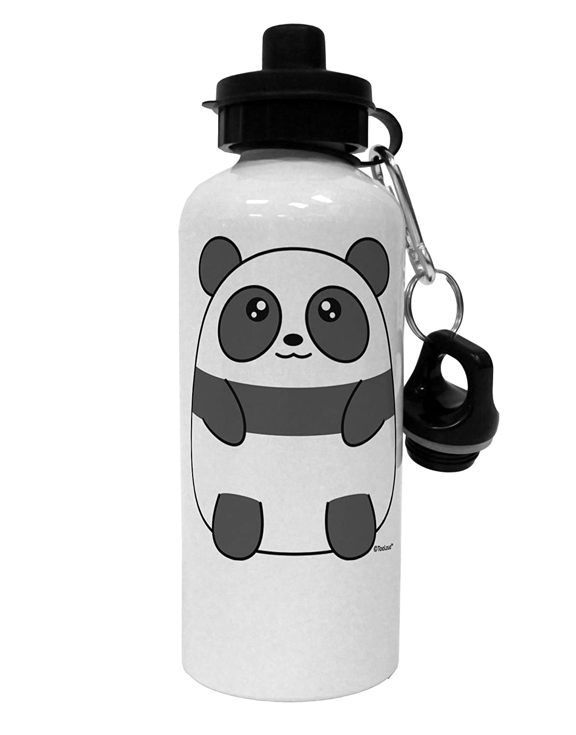 Amazon.com: tooloud Cute Oso Panda Aluminio 600 ml Botella ...