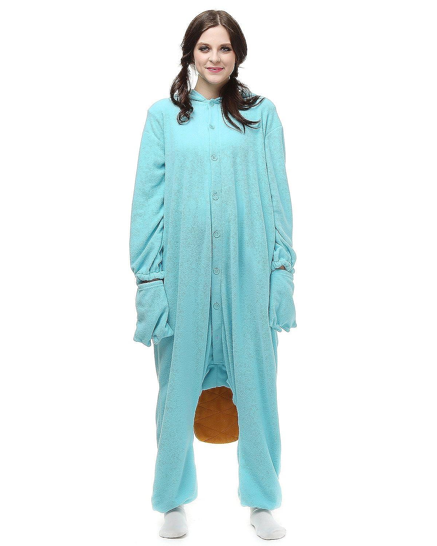 Amazon.com: Adult Platypus Onesie Costume for Women Men Kigurumi Pajamas Animal Cosplay Partywear: Clothing