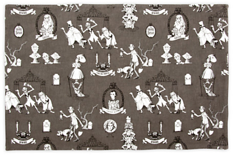 The Haunted Mansion Wallpaper Placemat - Characters | Kitchen Essentials | Disney Store