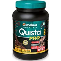 Himalaya Quista Pro Advanced Whey Protein Powder - 1kg (Chocolate)