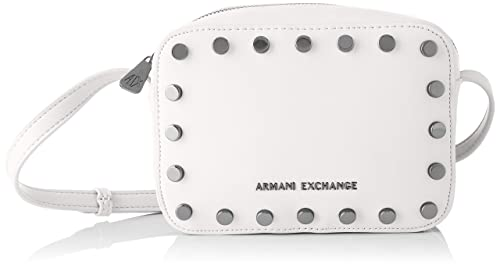 6fad6af4188dcc ARMANI EXCHANGE Small Crossbody Bag - Borse a tracolla Donna, Bianco  (White),