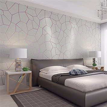 Moderne Minimalistische Dreidimensionale Vlies Tapete Atmosphäre  Europäischen Stil Geometrie Tapeten Schlafzimmer Wohnzimmer Tv    Hintergrund