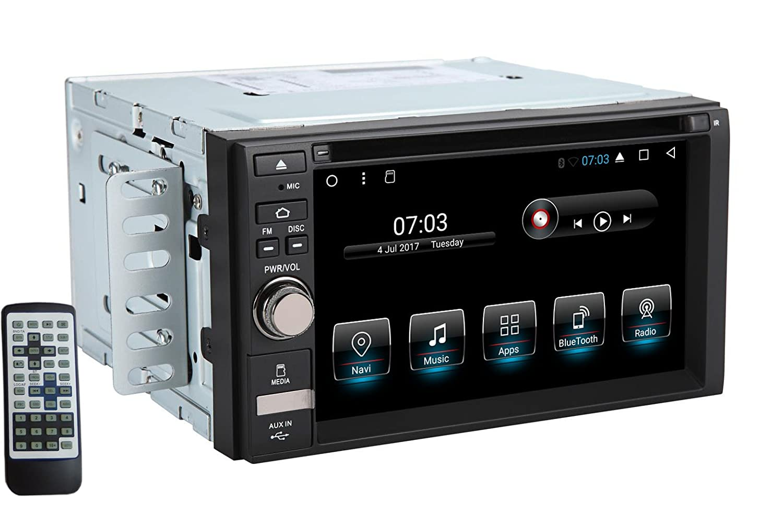 4G kann Kamera unterst/ützen EinCar Android Car Stereo 7.1 Octa-Core 2 GB RAM 32 GB ROM 7 In Dash 2 Din GPS Navigations-Spieler-Empf/änger Touchscreen-Radio Head Unit Unterst/ützung OBD//Spiegel-Link