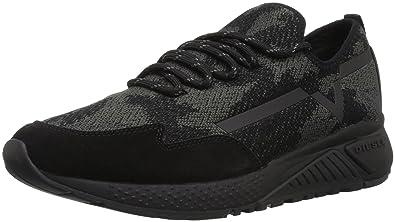 Diesel Men's SKB S-Kby Sneaker, Black, ...