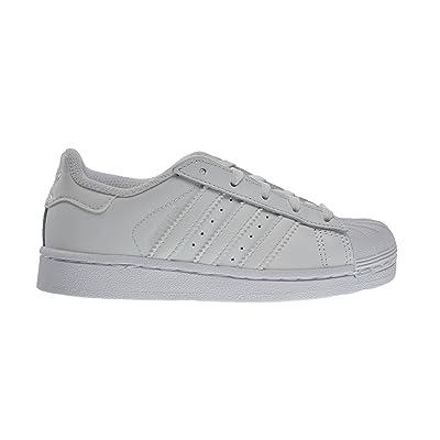 Adidas Superstar Foundation C Little Kids Shoes Running White/Running White Ftw b23655 (12 M US)