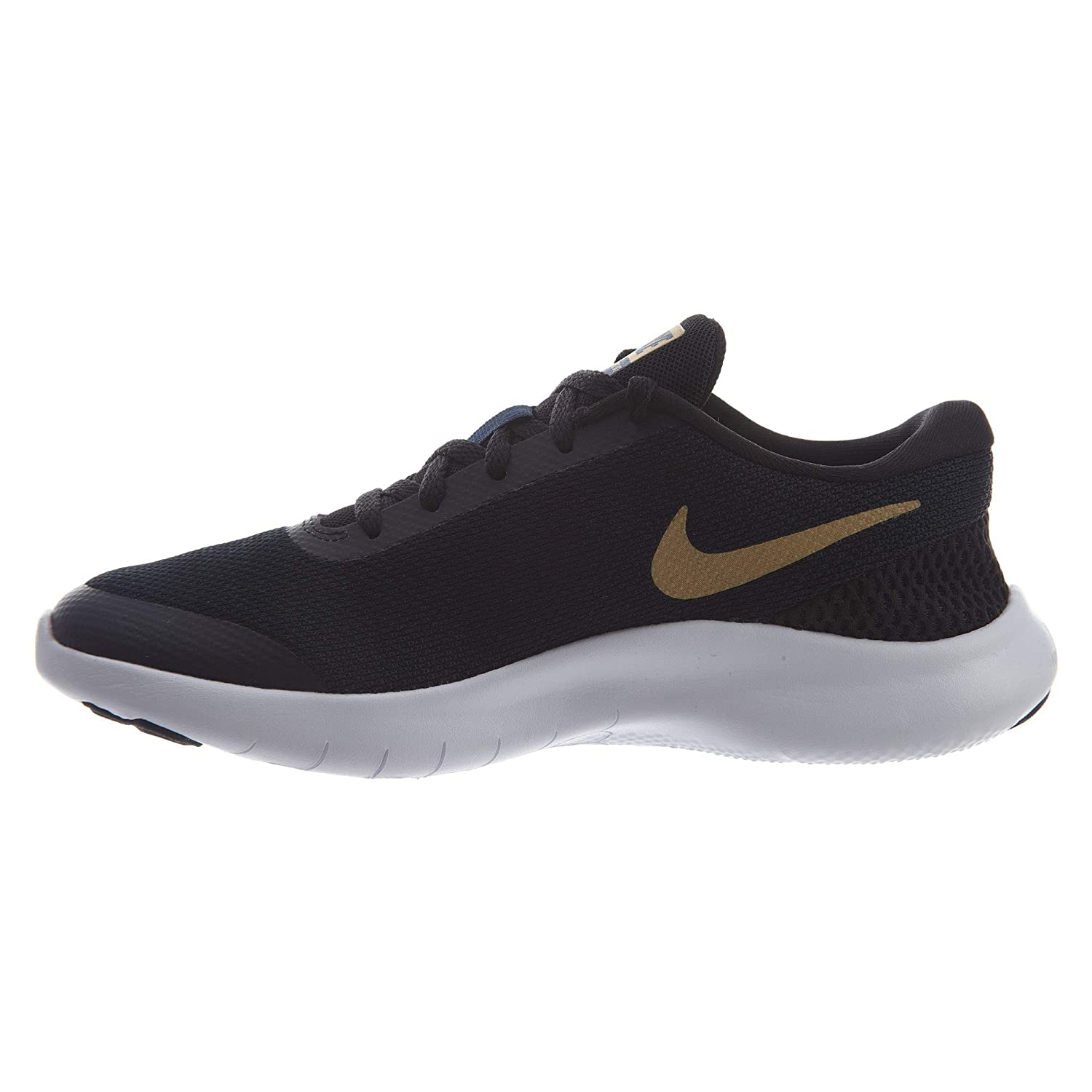 7bdab49f15806b Nike Women s W Flex Experience RN 7 Blk MTLC Gold-OBS-Wht Running Shoes-7  UK India (41 EU) (908996-012)  Amazon.in  Shoes   Handbags