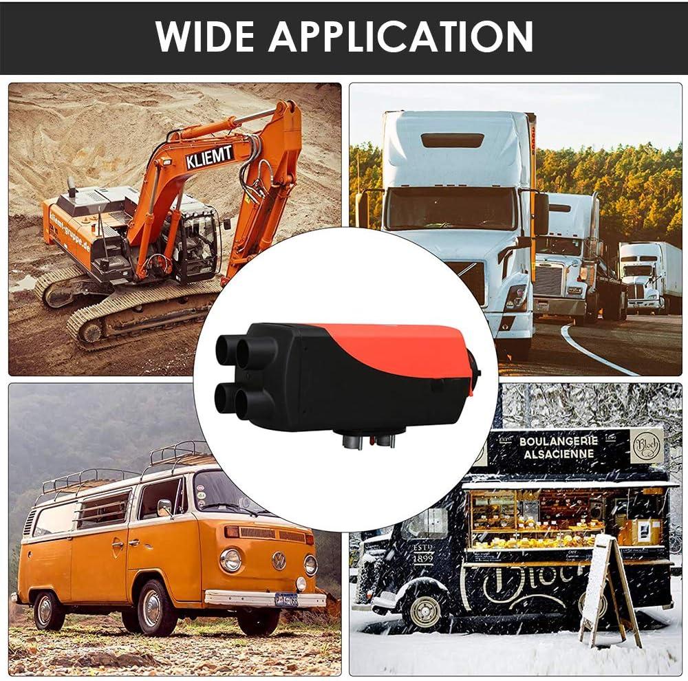 10L Kraftstofftank//LCD-Schalter,f/ür LKW,Boote,Autos,RVs TOPQSC 12V 5KW Diesel Standheizungg,Konstante Temperaturausgabe des Timers,Digitale Einstellungstemperatur Wohnmobile,Wohnwagen
