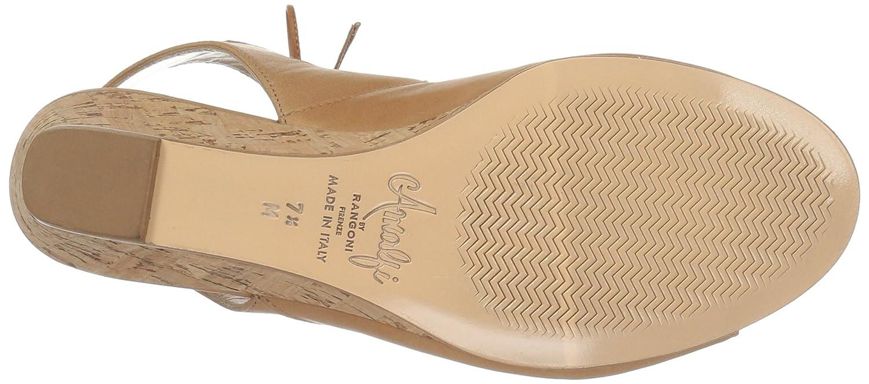 Amalfi by Rangoni Women's Morata Wedge Sandal B01M06APGC 7.5 B(M) US|Sabbia
