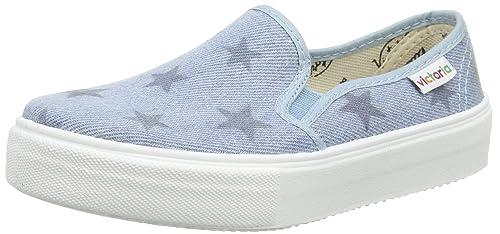 Victoria Slip On - Zapatillas de deporte de tela para hombre gris gris 42 2kGbEBH