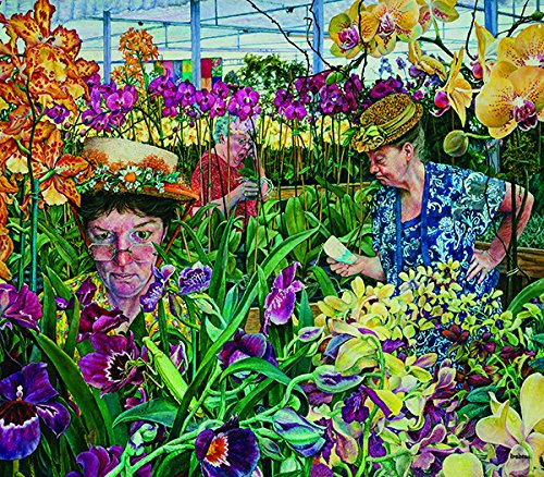 Orchid Society 300 Piece Jigsaw Puzzle by SunsOut
