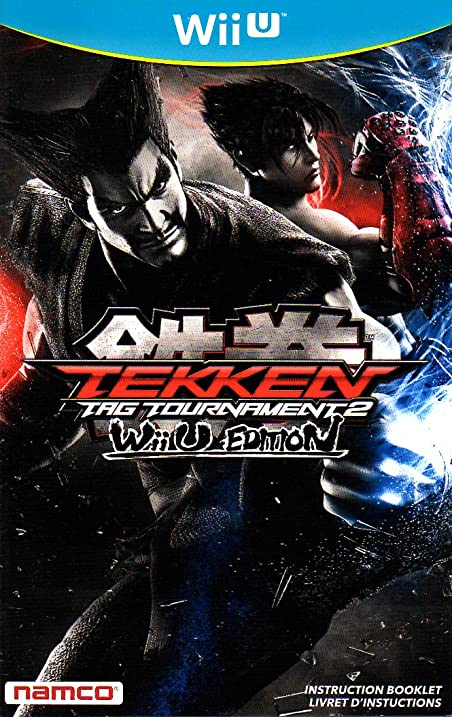 Amazon Tekken Tag Tournament 2 Wiiu Instruction Booklet