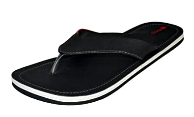 eb8a67b72ce399 Health Line Big Size Men Black Casual Flipflop  Buy Online at Low Prices in  India - Amazon.in
