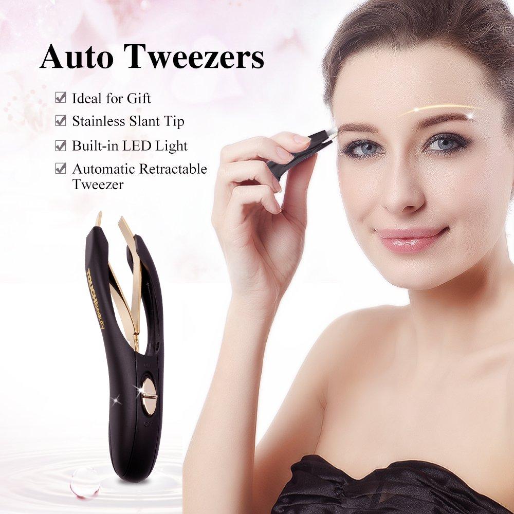 Amazon Touchbeauty Mini Eyebrow Tweezers With Led Light