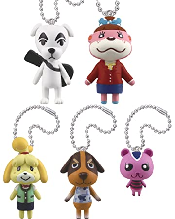 Amazon.com: Takara Tomy Animal Crossing Mascot Collection ...