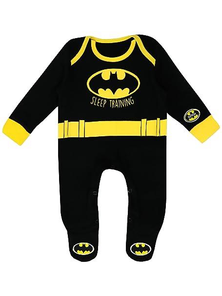 Batman Pijama Entero para Niños Bebés DC Comics