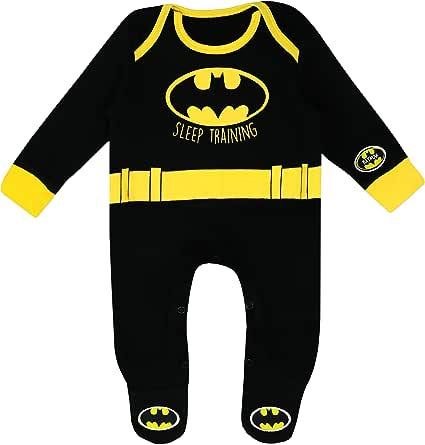 BATMAN Baby Boys' DC Comics Footies
